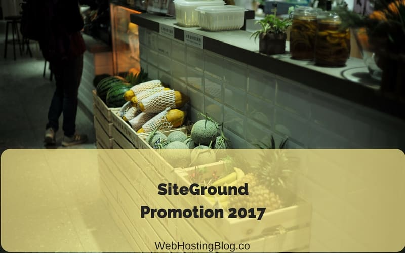 SiteGround Promotion