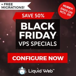 Liquid Web Black Friday